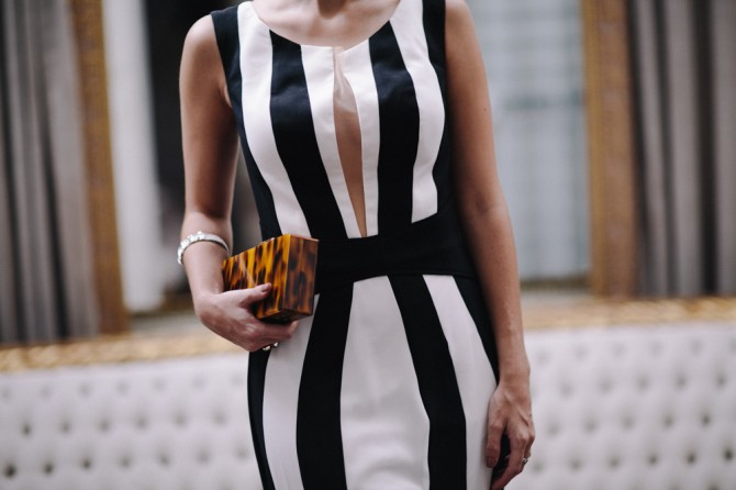 Vestidos para formatura preto e branco