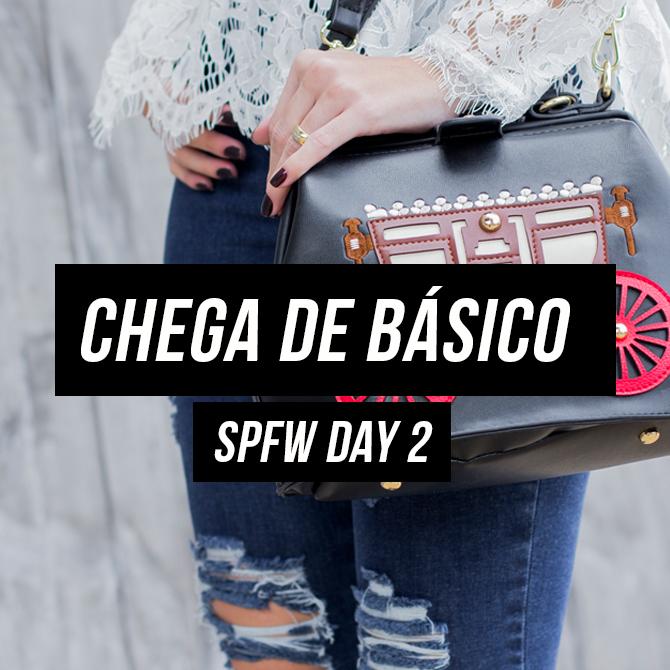 SPFW Day 2 – Look Passarela + Sorvete Delícia da Magnum